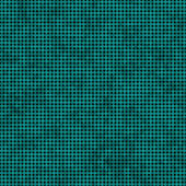 Bright Teal Small Polka Dot Pattern Repeat Background — Stock Photo