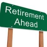 Retirement Ahead Sign — Stock Photo #50199961