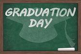 Graduation Day Message — Stock Photo