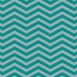 Teal Chevron Zigzag Textured Fabric Pattern Background — Stock Photo