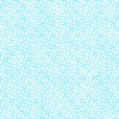 Teal and White Decorative Swirl Design Textured Fabric Backgroun — Stock Photo