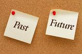 Past versus Future — Stock Photo