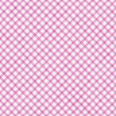 Pink Gingham Pattern Repeat Background — Stock Photo