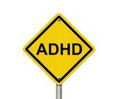 Warning Signs of ADHD — Stock Photo
