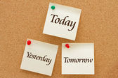 Yesterday, Today and Tomorrow — Stock Photo