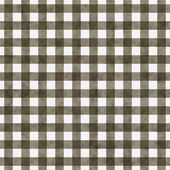 Brown Gingham Pattern Repeat Background — Stock Photo