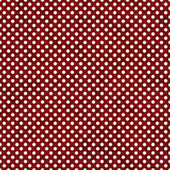 Red and White Small Polka Dots Pattern Repeat Background — Stock Photo
