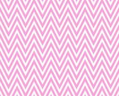 Pink and White Zigzag Textured Fabric Repeat Pattern Background — Stock Photo