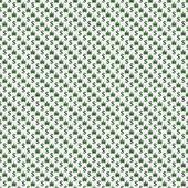 Green and White Marijuana Leaf and Dollar Symbol Pattern Repeat  — Stock Photo