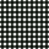 Black Gingham Pattern Repeat Background — Stock Photo