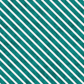 Teal and White Striped Pattern Repeat Background — 图库照片