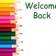 Welcome back — Stock Photo #6139539
