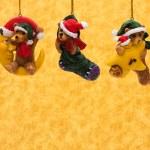 Teddy Bear Ornaments — Stock Photo #6326333