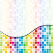 Rainbow toned mosaic abstract business background — 图库照片 #13620908