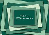Rectangular inspired retro abstract background — Stock Photo