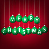 Frohe weihnachten — Stockvektor