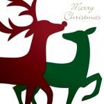 Reindeer Cards! — Stock Vector #17131829