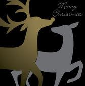 Reindeer Cards! — Stock Vector