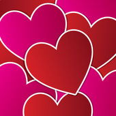 любовь сердце наклейка фона карт в векторном формате — Cтоковый вектор