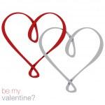 Infinity heart card — Stock Vector #21090377