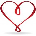 Infinity heart card — Stock Vector #21090385
