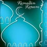 Ramadan Kareem (Generous Ramadan) card in vector format. — Stock Vector #26694213