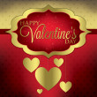 Valentine's Day card — Stock Vector #38931981