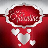 Alla hjärtans dag-kort — Stockvektor