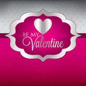 Valentine's Day card or invitation — Stock vektor