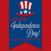 Independence Day card — Stock Vector