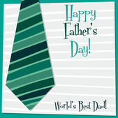 'Happy Father's Day' card — Stockvector