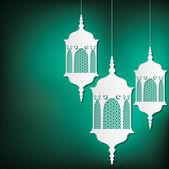 Arabesque lanterns — Stock Vector