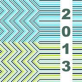 Cover for calendar — Stock Vector