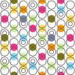 Background with circles. Vector illustration. — Stock Vector #13388561