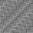 Pattern with stripe black and white — Stock Vector