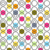 Background with circles. Vector illustration. — Stock Vector