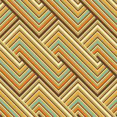 Motif de lignes colorées — Vecteur