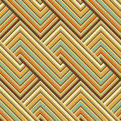 Pattern di linee colorate — Vettoriale Stock