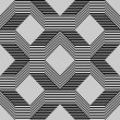 Seamless pattern with lines gray - Imagen vectorial