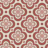 Retro pattern with circles — Stock Vector