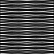 Vector halftone dots - black and white - Stok Vektör