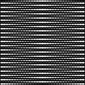Vector halftone dots - black and white — Stock Vector