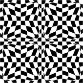 Vector pattern in black and white — Stock Vector