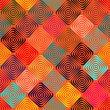 Royalty-Free Stock Imagem Vetorial: Endless pattern with squares
