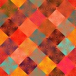 Royalty-Free Stock Imagen vectorial: Endless pattern with squares