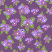 Beautiful background decorated with flowers — Vecteur