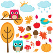 Stock Vector: Autumn