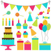 Fiesta de cumpleaños — Vector de stock