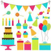 誕生日パーティー — ストックベクタ