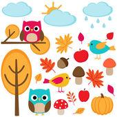 Jesień — Wektor stockowy
